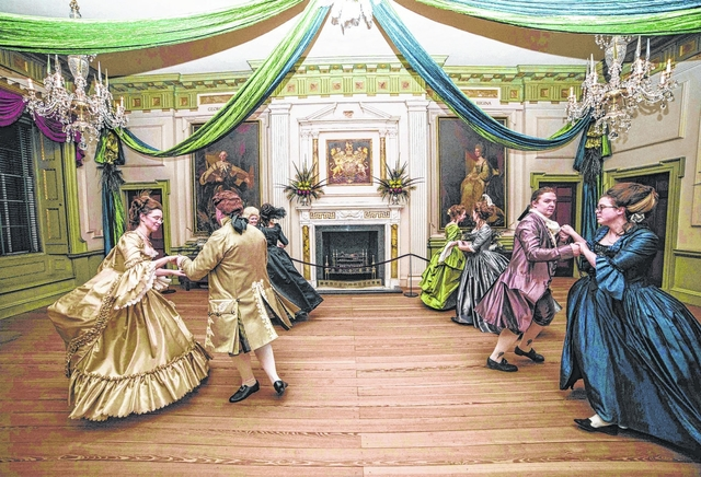 Tryon Palace welcomes holiday season with tours, movies, Santa Claus   Sampson Independent