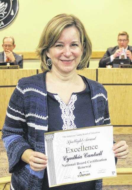 Sampson Schools honor teachers | Sampson Independent