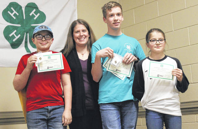 Members of Majestic Riders spent a lot of time participating in 4-H programs.