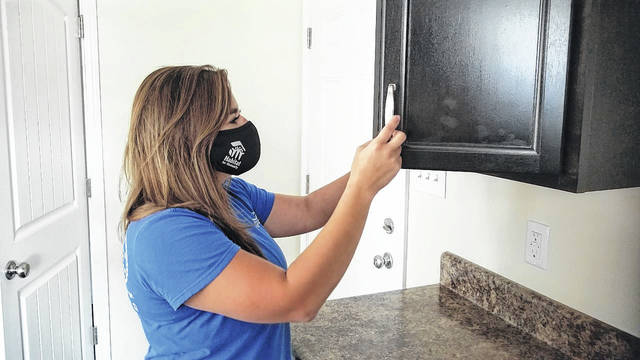 Karoll McDonald, director of development and communications for Fayetteville Area Habitat for Humanity, is reaching out to the community for fundraising efforts.                                  Chase Jordan|Sampson Independent