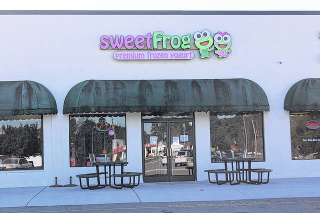 <p>SweetFrog, located off Sunset Avenue in Clinton, closed its doors for good on Wednesday.</p>