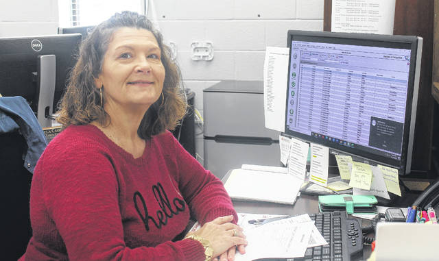 Annette Ricketson is enjoying her time as the new deputy clerk for Garland.                                  Chase Jordan |Sampson Independent