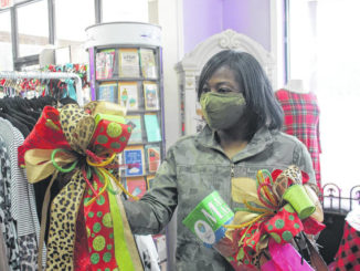 Veronica Murphy shops at a local store in Sampson County on Black Friday.                                  Chase Jordan | Sampson Independent