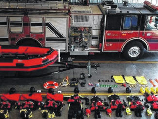 Swiftwater rescue gear at the Autryville Fire Department will be used during emergency events.                                  Courtesy Photo