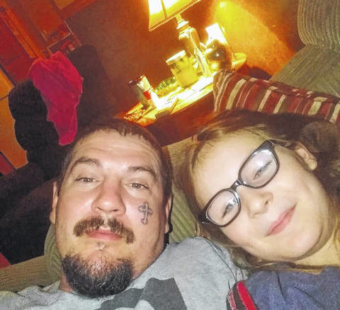 Breanne Marie Jones, 10, with father Jonathan Lewis Jones, who was sought as part of Tuesday's Amber Alert.