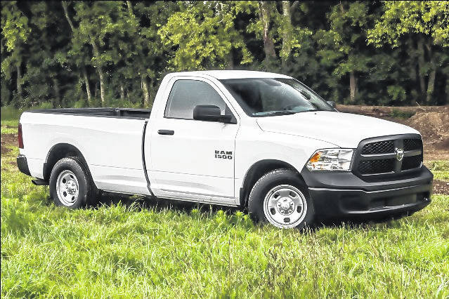 The town of Garland was victim of theft, in which two trucks were stolen.