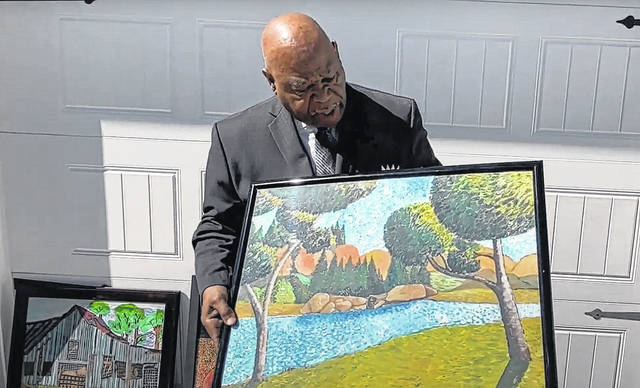 The Sampson Arts Council Artist Spotlight at the end of February was with the Reverend Bobby L. Simmons Sr.. The video can be seen on the Council's YouTube channel.                                  Courtesy photo