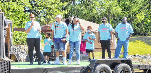 Members from Zarya Ashley's family were recognized, with sisters, an aunt, her parents and more there in support.                                  Emily M. Williams | Sampson Independent