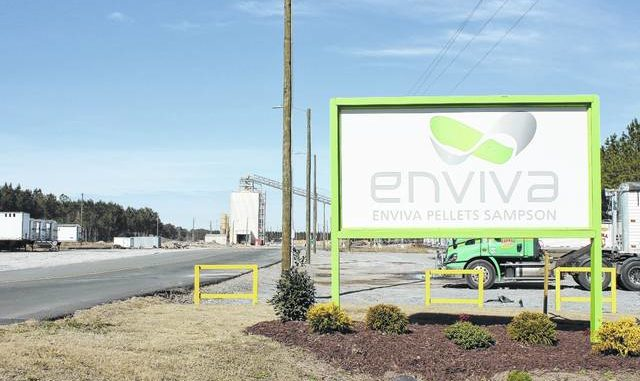 Enviva Pellets Sampson in the Faison area was the site of a fire Friday afternoon. Despite strong winds, fire departments from multiple counties were able to contain the blaze.
