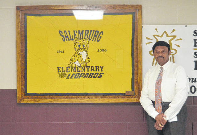 Salemburg Elementary Principal Gerald Johnson                                  Michael B. Hardison | Sampson Independent