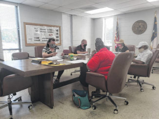 After Jo Strickland left, the Garland Board of Commissioners continued with its meeting.