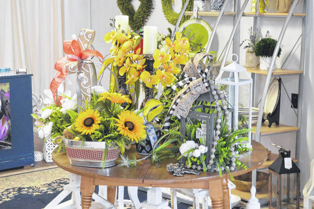 One of the many many arragaments that can be found at Wild Magnolia Florist.                                  Michael B. Hardison | Sampson Independent