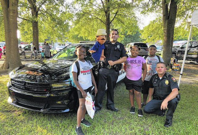 The National Night Out is scheduled for Aug. 3 from 6 to 8 p.m.. Community members can come out and meet and greet with law enforcement and other various community organizations.                                  Contributed photo