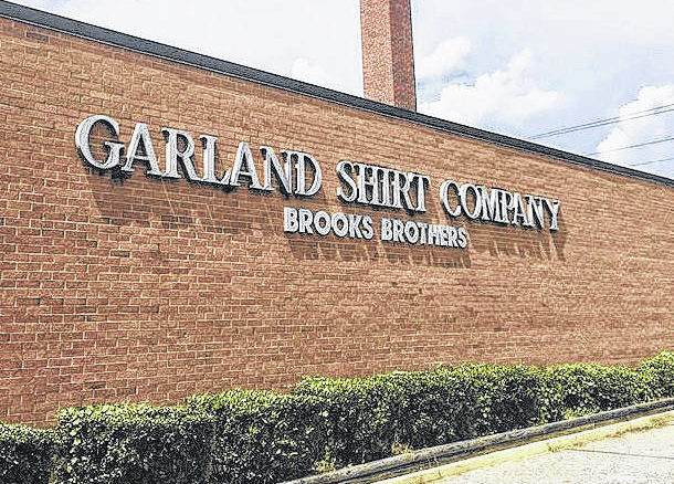 The Garland Shirt Company building was purchased in June by Cayenne Acquisitions Group, LLC and is set to be reopened by Garland Apparel Group LLC within the next month.