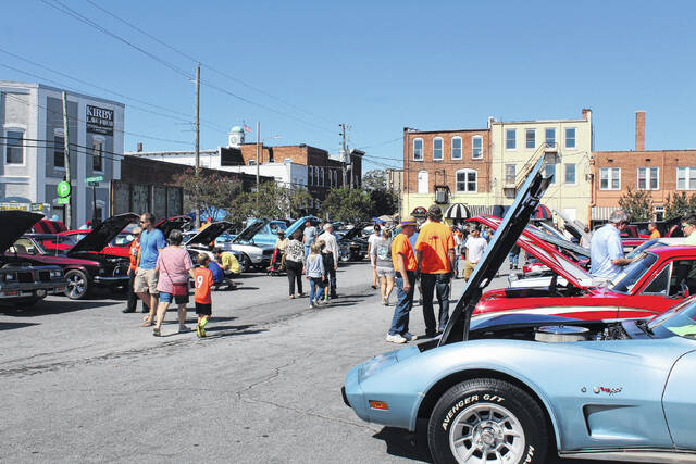 The Ol' Lightnin' Rods Car Show will be held at the market at 215 Lisbon St.. At the end of the event at 3 p.m. the Ol' Lightnin' Rods Car Show winner will be announced at the Clinton City Market.                                  File photo