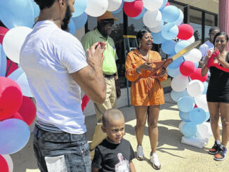Celestine Crumpler is excited about opening the new laundromat in Roseboro.                                  Contributed photo