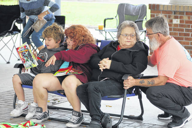 <p>Families gathered to listen to music from the Woodwinds with the NC Symphony.</p>                                  <p>Emily M. Williams   Sampson Independent</p>
