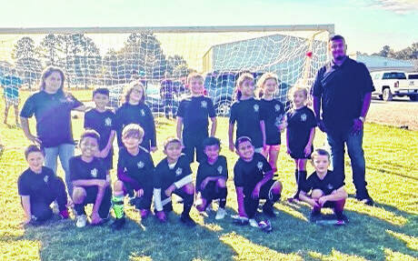 <p>The Clinton Recreation Department partnered with Sampson County Soccer Club ended their fall soccer season earlier this month at Royal Lane Park. Multiple teams of all ages ranging from ages 4-12 participated in fall soccer. According to Sampson County Soccer Club officials, the young players had a blast and learned more about the game of soccer throughout the course of the season. A new season will kick off again in the spring. For more information about programs for youth soccer, visit www.sampsoncountysoccer.com or visit the Sampson County Soccer Facebook page.</p>