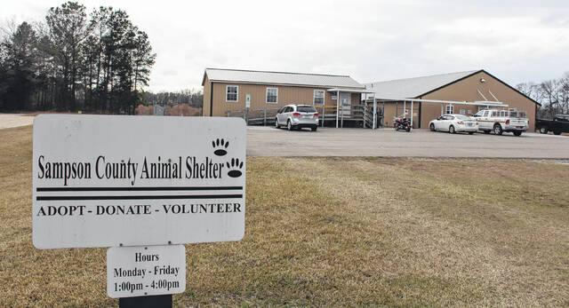 The Sampson County Animal Shelter is closed until at least Nov. 8 following two cases of the parvo virus.